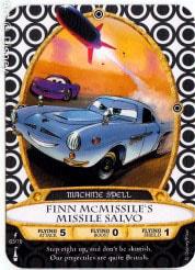 Finn McMissile's Missile Salvo