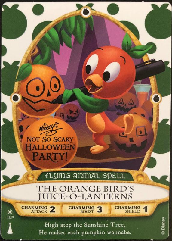 Orange Bird's Juice-O-Lanterns